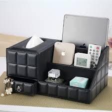Office Desk Organizer by Multipurpose Desk Organizer Leather Pu Vintage Office Desk Storage