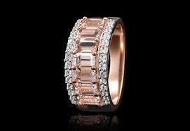 baguette ring morganite baguette ring american swiss