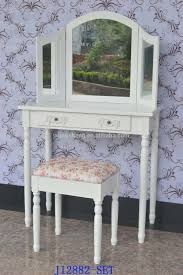 cottage french dressing table wood vanity table modern make up
