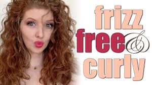 haircuts for frizzy curly hair how i do it frizz free curly hair youtube