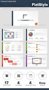 ppt design templates 5 flat design powerpoint and keynote templates list