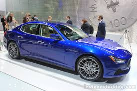 blue maserati aston martin maserati and bentley at auto expo 2016