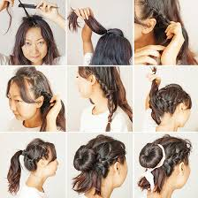 hairstyles with a hair donut 40 quick and easy updos for medium hair