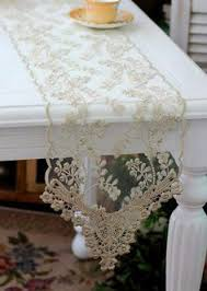 lace table runners wedding gray silver weddings lace table runner 3ft 10ft long x 7 wide