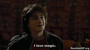 Magic Meme Gif - gif i love magic magic love magic harry potter gif viral viral