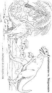 ceratosaurus stegosaurus coloring snakes scales