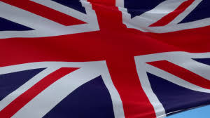 waving british flag youtube