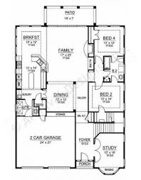 Narrow House Plans With Garage Mission Viejo Ii Texas House Plans Narrow Floor Plans