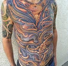 bio mech tattoos
