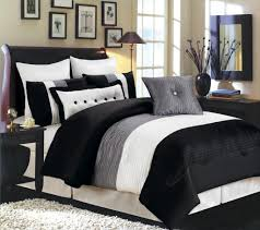 Red White Comforter Sets Bedroom Stunning Black Bedding Set With Luxury Chandelier Where