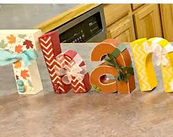 thanksgiving letters etsy