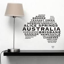 australian map wall sticker australian map australian map australian map