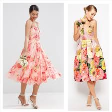 floral print bridesmaid dress floral print t length dress ideas for trendy designers