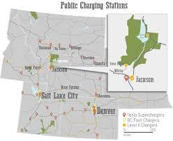 Tesla Charging Stations Map Vehicles