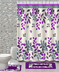 15 piece shower curtain set forest u2013 daniel u0027s bath and beyond