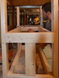 remodelaholic build a wood bar cart diy