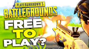 is pubg free pubg for free fortnite battle royale is free to play youtube