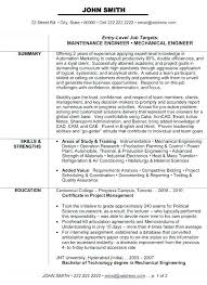 engineering resume templates electrical engineering resume template engineer sle power plant