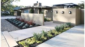 Home Yard Design 50 Modern Front Yard Designs And Ideas Modern Minimalist