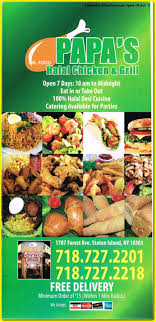papa cuisine papa s chicken grill gyros chicken halal middle