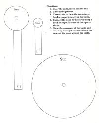 challenge students u0026apos creativity using the sun earth moon model