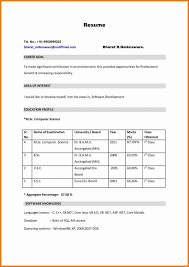 basic sle resume format how to make a resume format starengineering create sociology
