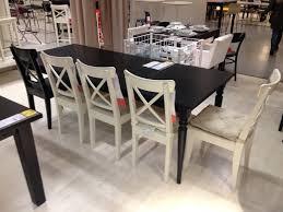 Suspension Industrielle Ikea by Table à Manger Extensible Ikea Bjursta Henriksdal Table Et 6