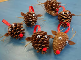 pinecone ornaments to make