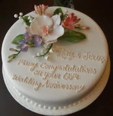 65 wedding anniversary i that cake co on 65th wedding anniversary cake