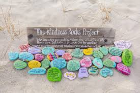 Painting Rocks For Garden Paint It Forward Painted Rocks Deliver Messages Of The