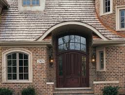 Exterior Doors San Diego Custom Wood Mahogany Arched Entry Door Unit With Sidelights