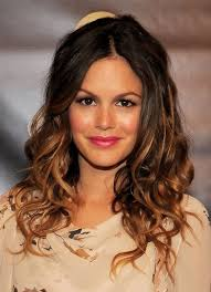 the rachel haircut 2013 casual ombre toned long curly hairstyle rachel bilson hairstyles