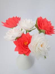 paper dahlia paper flowers centerpieces wedding bouquets