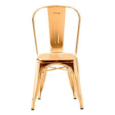 Accent Chair Set Of 2 Anita Gold Metal Frame Chair Set Of 2 Apt2b Com