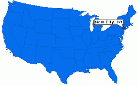 map of new city new city new york information epodunk
