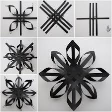 diy 3d paper snowflakes tutorial