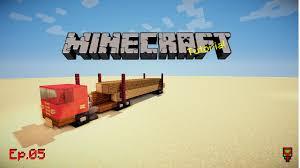 minecraft truck log truck minecraft tutorial ep 05 youtube