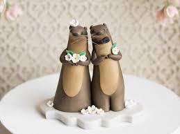 otter cake topper otter wedding river otter cake topper by bonjour poupette