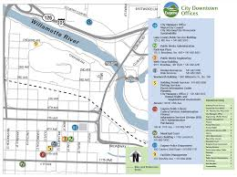 Oregon City Oregon Map by City Offices Eugene Or Website