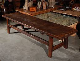 Country Coffee Table Country Coffee Table Bench At 1stdibs
