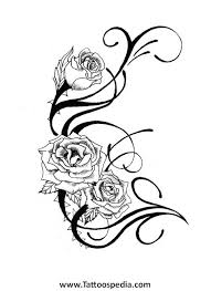 3 rose tattoo designs 3