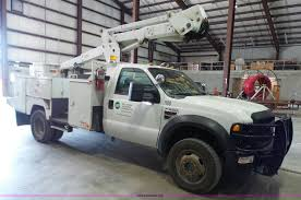 ford electric truck 2008 ford f550 super duty xl bucket truck item l7078 sol