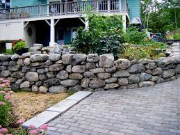 Recon Walls by Gabion Bench Outdoor Living Glamorous Rock Wall Garden Designs