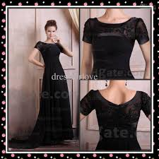 long black dresses with short sleeves dress images