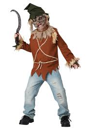 child psycho scarecrow costume