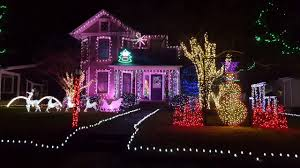 Christmas House Light Show ironton santa house 2016 christmas light show youtube