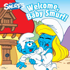 baby smurf book peyo official publisher