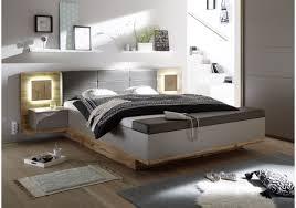 Schlafzimmer Komplett Bett 180x200 Bett 180 X 200 Cm Mit Bettkasten Wildeiche Basaltgrau Mit Abs