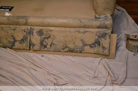 Repaint Leather Sofa I Painted My Sofa Before U0026 After