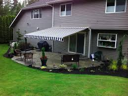 Deck Awnings Retractable Retractable Awnings For Your Deck And Patio American Sunscreens